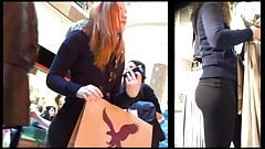 Teen Voyeur - Furry Hood Blonde