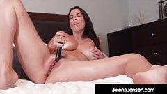 Penthouse Pet Jelena Jensen Orgasms With Black Bullet!