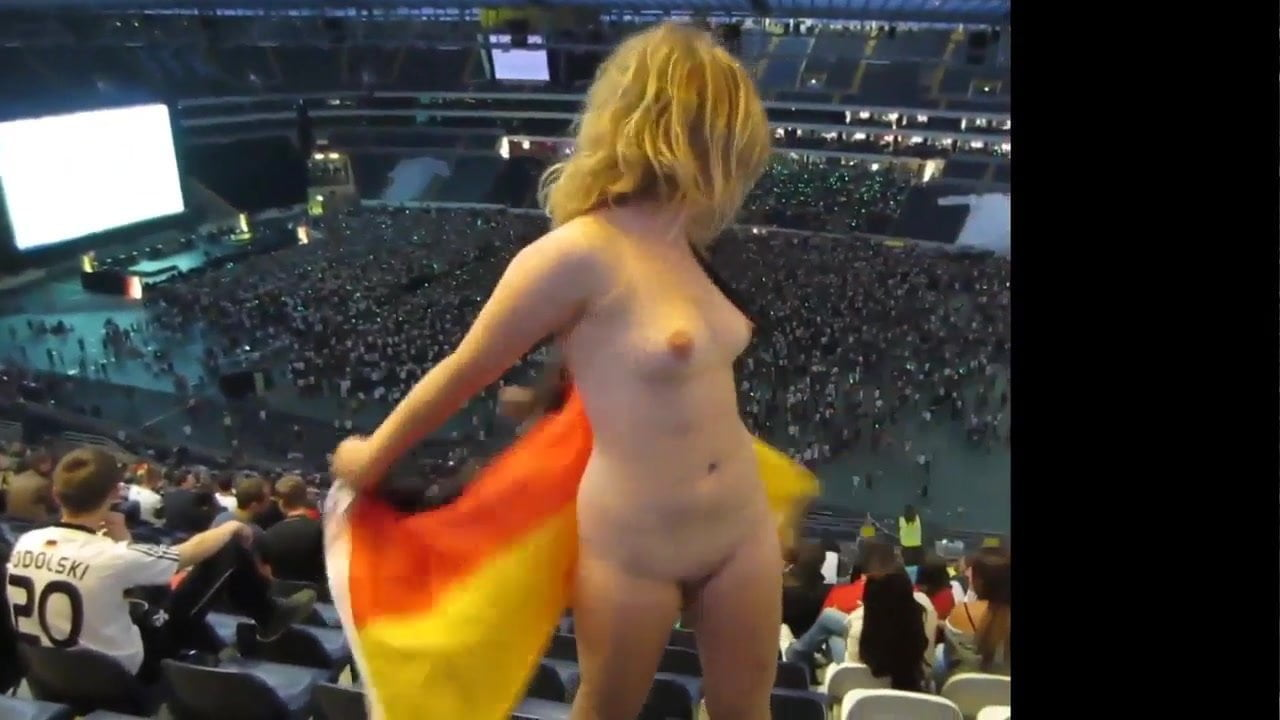 There similar stadium naked chick at something also