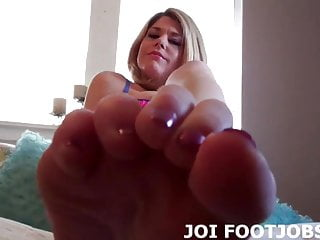 I bet you want me to rub my feet all over your cock