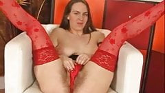 Erin In Red Stockings BVR