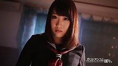 Rena Takayama :: School Uniform Club 1 - CARIBBEANCOM