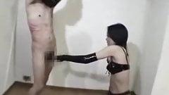 Asian Girls Bats His Cock Hard