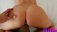 Hot Sister Teases Step Brother With Her Perfect Big Tits S7: