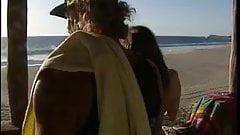 Bikini girls drilled by the ocean