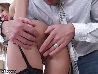 21Sextury Training Hazel Dew's Gape to Take Big Cocks