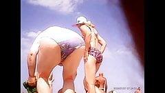 Beach Voyeur! Amateur hidden cam!