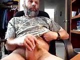 Daddy bear with cum