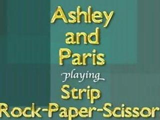 4x7 spanish rock strips - Ashley and paris play strip rock-paper-scissors