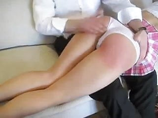 Old fashioned otk spanking
