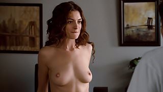 Anne Hathaway Nude Boobs And Butt In Love And Other Movie