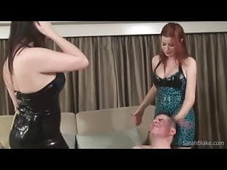 Spit Slap Starring Sarah Blake and Goddess Alexandra Snow