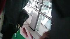 Asian upskirt in LRT 002