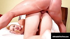 Samantha Rone Tongue & Butt Fucked In Her Tiny Puckered Hole