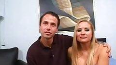 Watching while stud fucks girlfriend