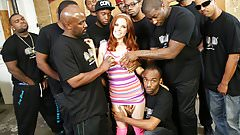 Penny Pax Sucks As Many Black Cocks As Possible