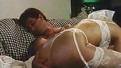 Melanie Moore and Jon