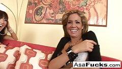 Asa Akira Loves Isis Taylor