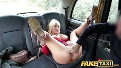 Fake Taxi Rough fuck for sexy Hungarian MILF