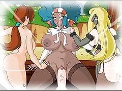 Pkmn bitches (Delia, Lenora, Cynthia)