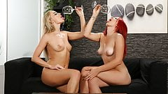 Filthy Lesbians Get Drenched In Piss