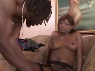 Ebony Star Cinnabunz in Black Big Boob Bangeroo 13