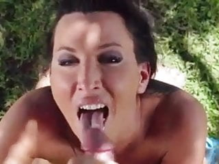 Gorgeous Lezley Zen Incredible Pov Blowjob Cumshot
