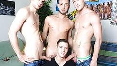 Gay bear twink orgy
