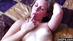 Drenching Her Soft Pussy in My Cum