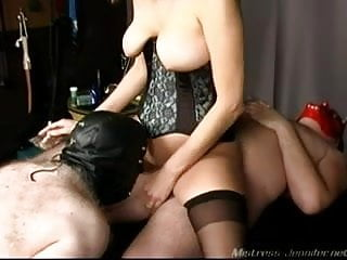 Mistress cuckold too cumeating