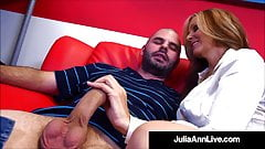 Horny Hot Teacher Julia Ann Fucks Her Hard Cock Pupil!
