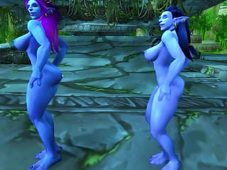 Preview 2 of Warcraft Troll Girls