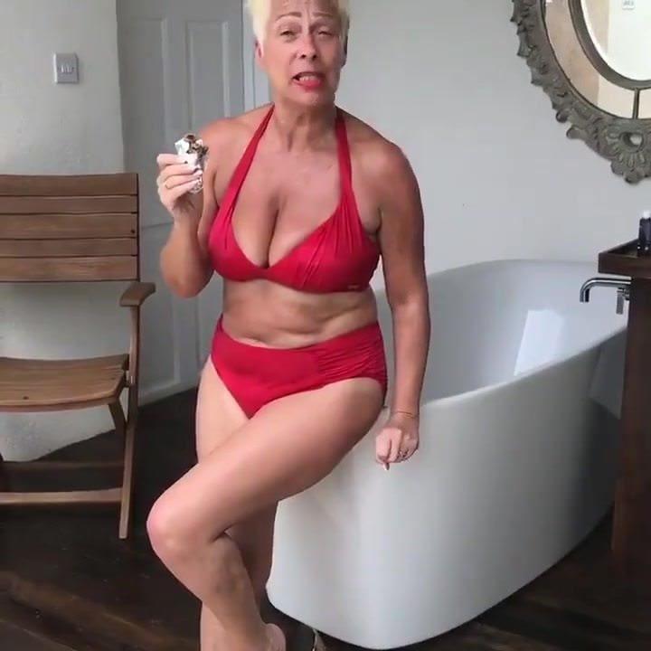 Denise huge saggy tits milf fucked
