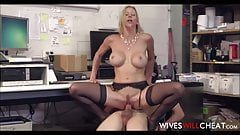 Hot Big Tits Cheating Wife Alexis Fawx Sex With New Hire