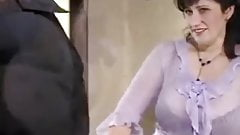 German Stepmom so excited when her son attempts to fuck her