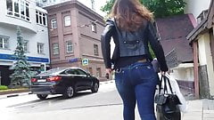 Young woman with perfect ass