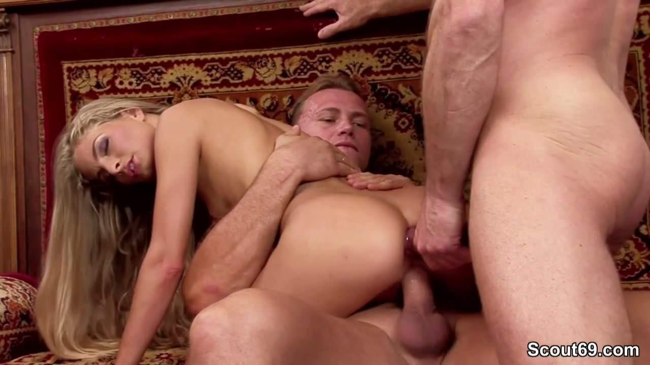 Double penetration panties-7413