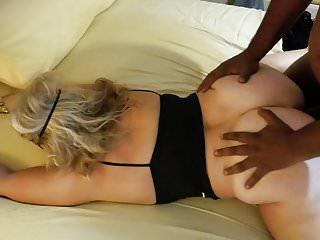 BBC bareback Doggystyle fucks my Blonde Slut Wife
