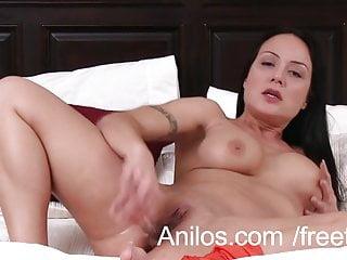 Anal loving mom dildo fucks her ass