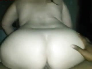 PAWG Takes A Ride On Black Cock