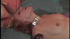 Two dykes use fetish toys to play