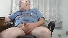 grandpa, with big balls