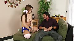 STP3 Daddy Fucks His Dirty Horny Stepdaughter !