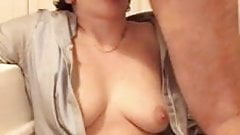 Girl Gives a Good Suck's Thumb