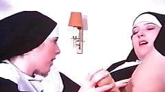 Nympho Nuns Classic 191970s Danish's Thumb
