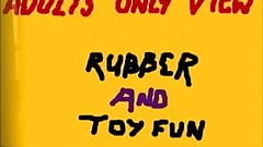 rubber catsuit and toys