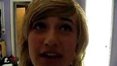Blonde Teen Masturbates For You (Part 2)