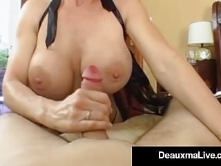 Preview 2 of Stunning Fit Milf Deauxma Gets Ass Banged By Hard Young Stud