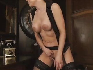 Sexy Office Secretary Masturbation D