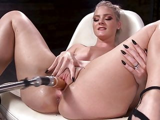 Lisey Sweet Is Fucked Raw By Our Machines